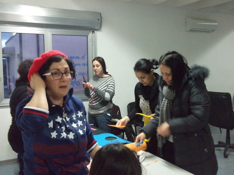 Laboratori di preparazione al carnevale